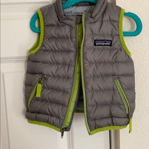Patagonia down vest for 6-12 month